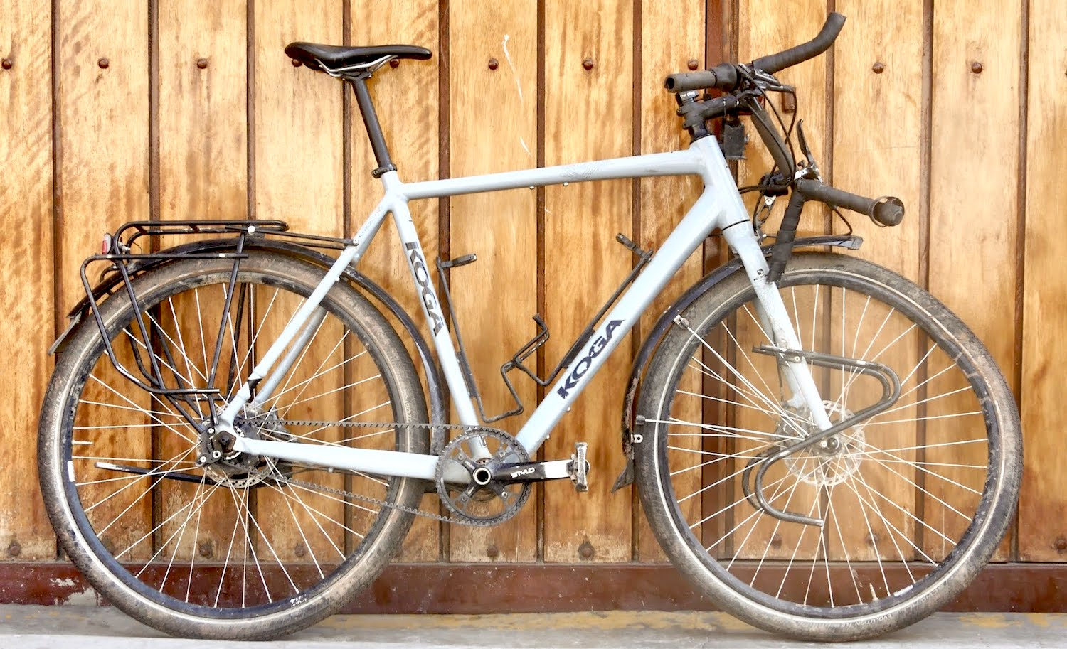Broken Koga Touring Bike