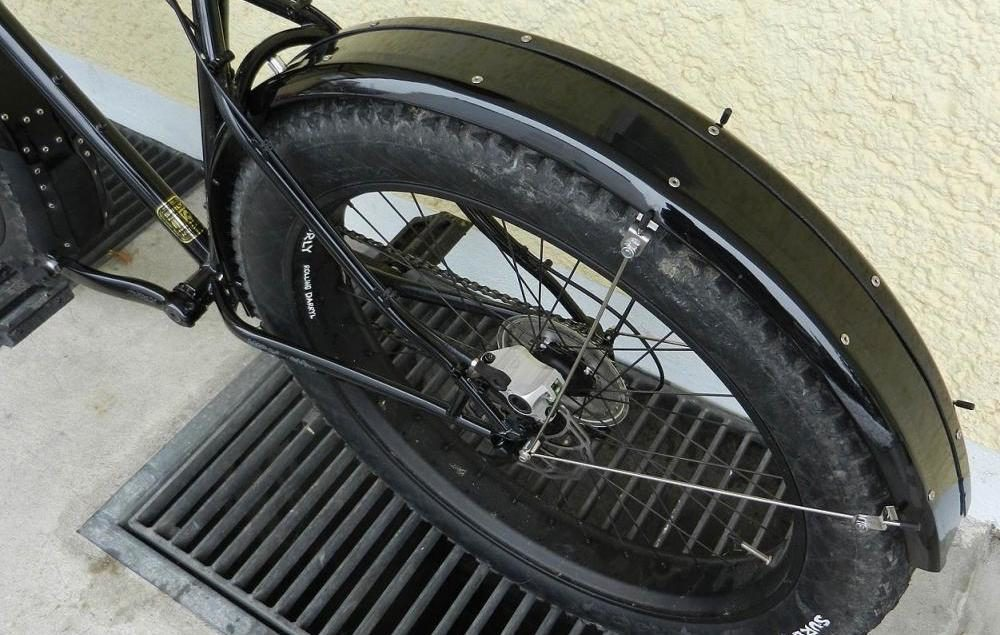 Fat Tire Cruiser Bicycle Fender Kit Front and Rear
