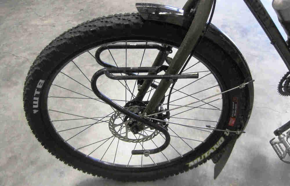 Mudguard Bike Fat Bike Front /& Rear 26 Inches Matte Black